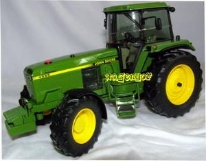 John Deere 4955 tractor SC7645.  Schuco. Schaal 1:32