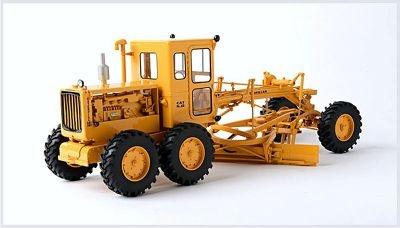 CAT Diesel no. 12 Motor Grader. Schaal 1:87