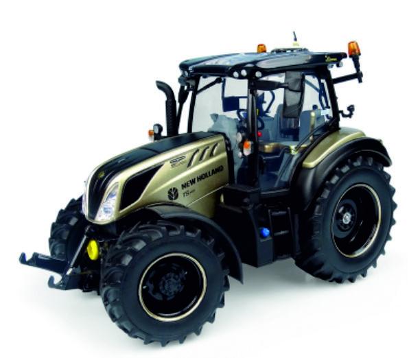 NH T5.140 tractor in Goud kleur 50 jaar UH6255