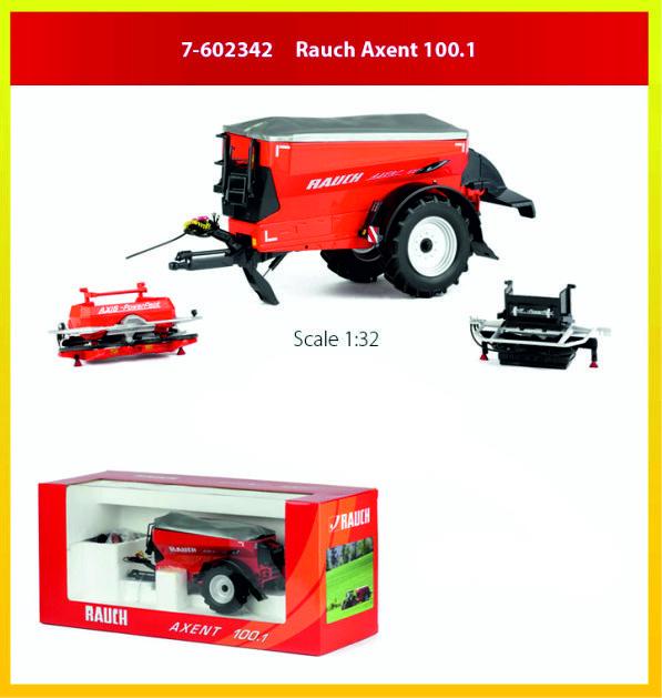Rauch Axent 100.1 getrokken strooier ROS 7-602342 1 :32