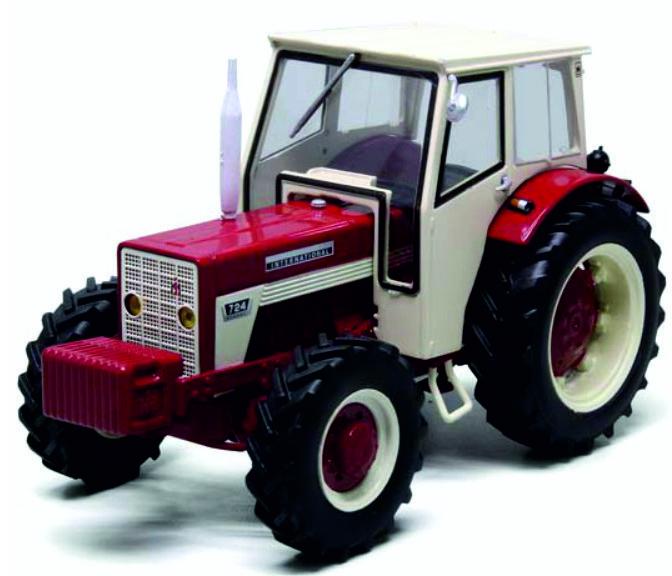 IH724 4WD cabine en frontgewicht REP150