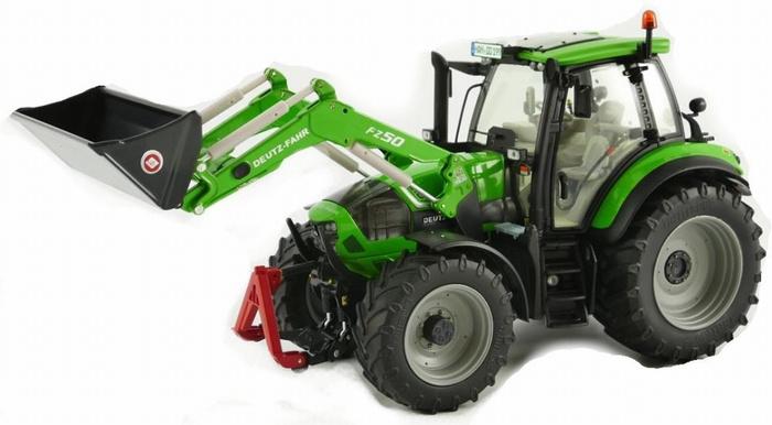 Deutz-Fahr 6190 C shift with FZ 50 front loader. W1046 W eise-Toys Scale 1:32
