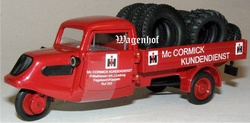 Tempo McCormick service car Schuco Scale 1:43