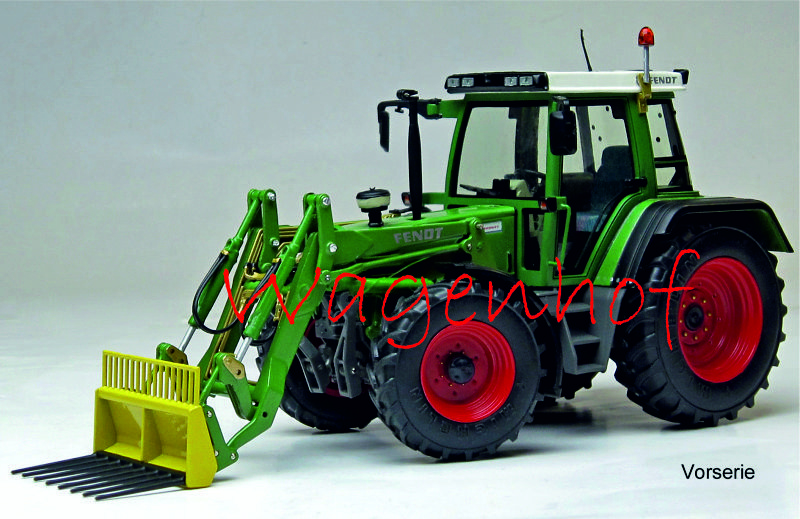Fendt Favorit 510 C with front loader (1993-2000) Weise-Toys W1064