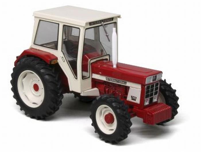 IH 744 FWD tractor. REP171. Replicagri (2017) Schaal 1:32