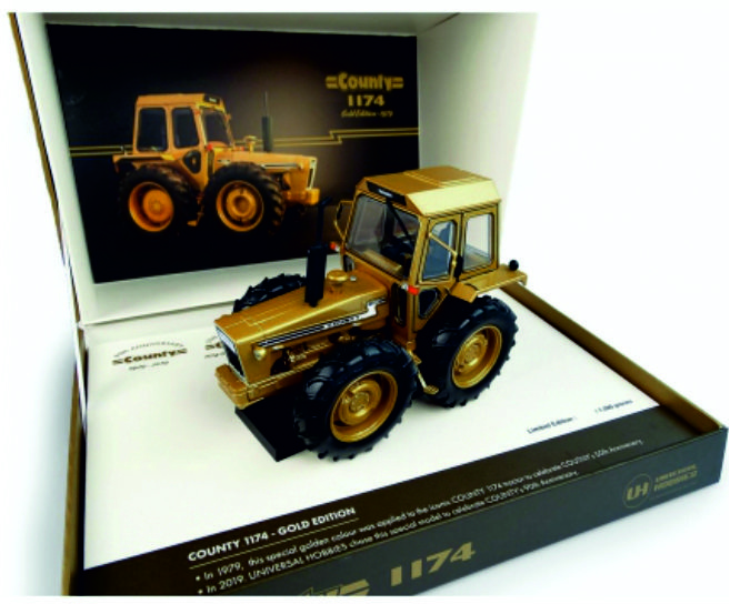 Ford County 1174  Gold 50ste anniversary 1929-1979 UH6211.
