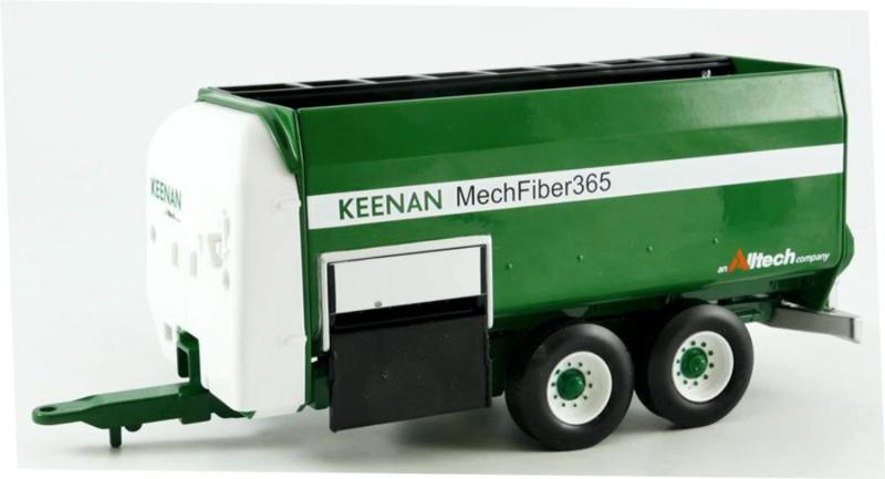 Keenan Mech Fiber 365 voermengwagen Britains  Schaal 1:32