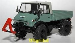 Unimog 406 met linnencab landbouw uitvoering  Weise Toys Schaal 1:32