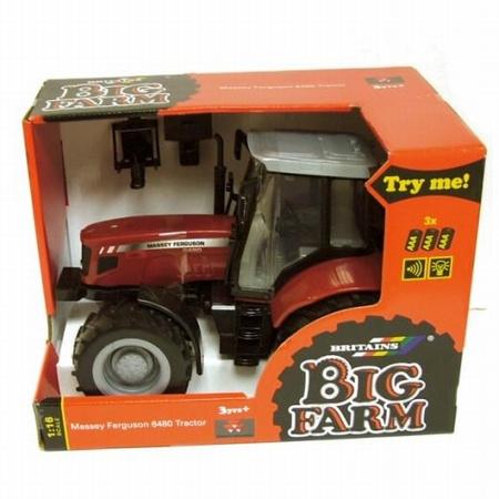 Masssey ferguson 6613 tractor Big Br43078A1 Schaal 1:16