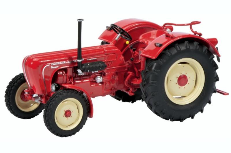 Porsche tractor Master. PRO.Resin SC8947. schaal 1:32