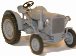FAHR F22 tractor in gray Scale 1:43