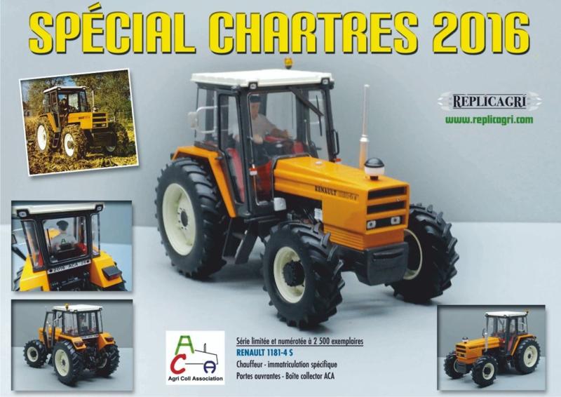 Renault 1181-4 S tractor REPACA 2016 LIM.  ED 2500 stuks.  Schaal 1:32