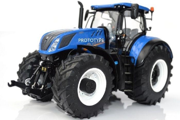 NH.T7.315 tractor. MM1603. Trelleborg banden.  Schaal 1:32