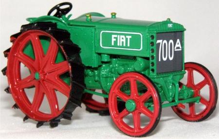 FIAT 700 A tractor 1928 Schaal 1:43