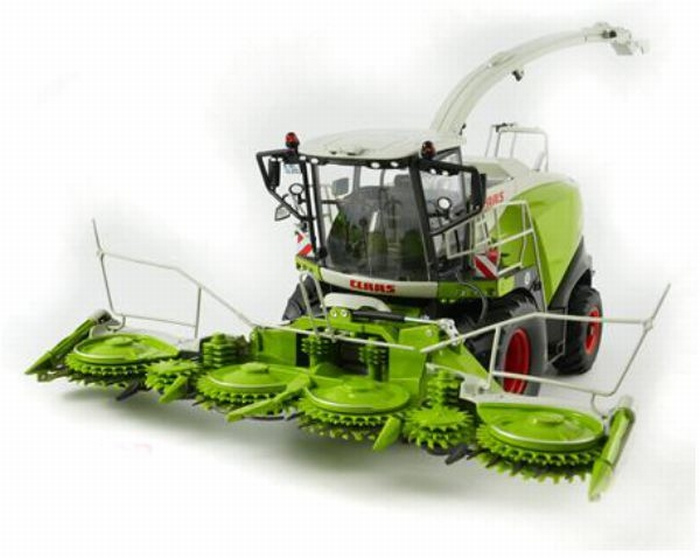 Claas Jaguar 860 Hakselaar met Orbis 750 en pick up Wi77812