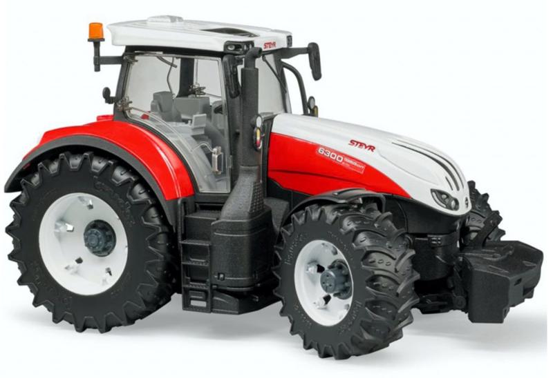 Steyr 6300 Terrus CVT tractor.  BRU03180 Schaal 1:16