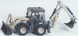 Terex Tractor with front and rear loader Siku Scale 1:50