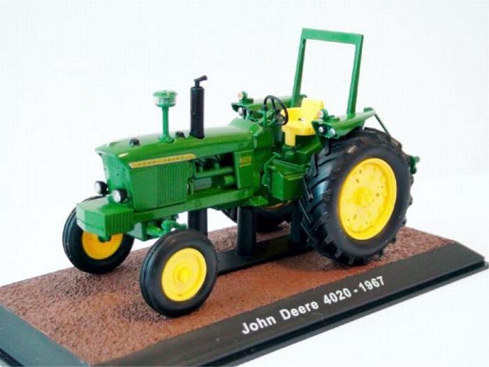 John Deere 4020. Atlas modellen.  Atlas - 7517009. Schaal 1:32