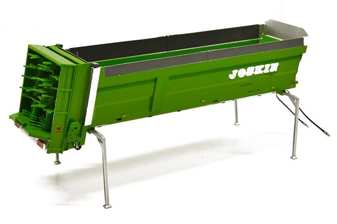 Joskin Ferti-Cargo 6011/17U bak met mestverspreider. ROS schaal 1:32