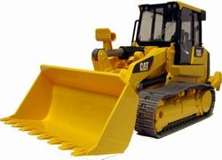 CATERPILLAR bulldozer met voorlader.  Bruder BRU02447 Schaal 1:16