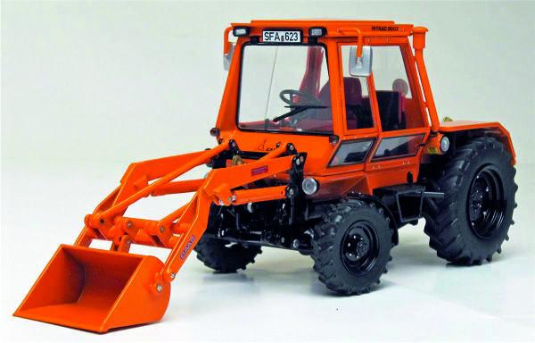 Deutz-Intrac 2003A Kommunal with front loader Weise-Toys. W1109