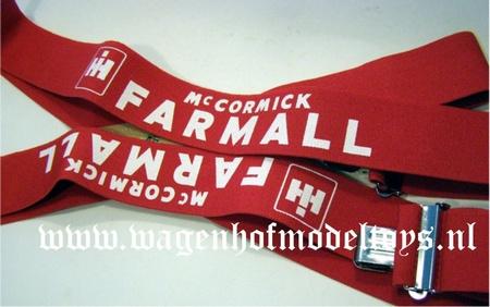 "Suspender with McCormick / Farmall imprint Bret IH 48"""