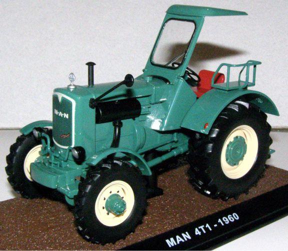 MAN 4T1 tractor 1960 Atlas - 7517012