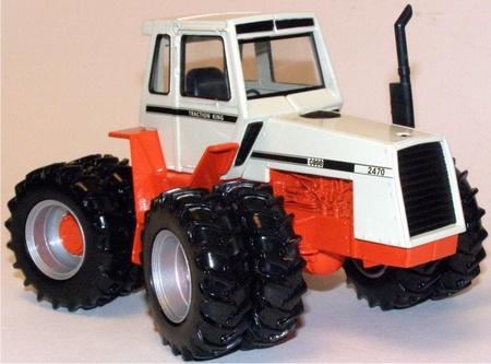CASE 2470 Tractionking tractor 4 wiel bestuurbaar ERTL14647 Schaal 1:32
