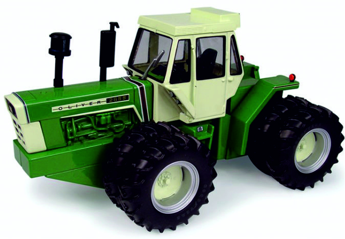 Oliver 2655 articulated tractor NFTS 2005 ERTL16138A Toy Farmer 1:32.