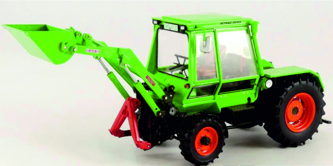 Deutz Intrac 2003A with front loader W1065 Weise-Toys.