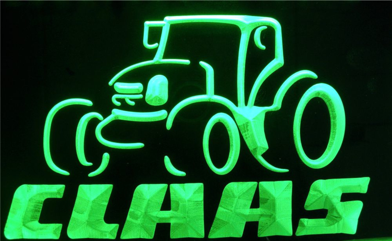 Claas Led Neon light sign LG178
