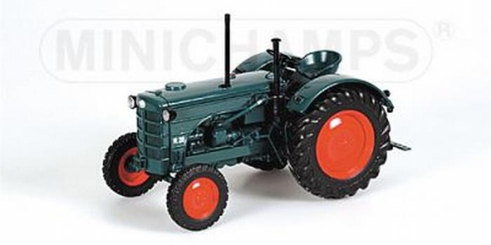 Hanomag R28 tractor. Minich 109 153070  Schaal 1:18