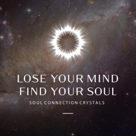 Soul connection crystal - with personal online sound transmission - 20 minutes video