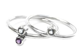 Zilveren Galaxy Ring