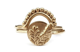 Golden Branches Ring