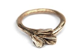 Gouden Ring Leaves