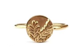 Gouden takjes ring