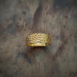 Golden Ray Ring