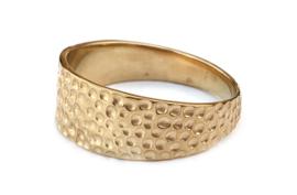 Gouden rog ring