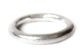Silver Casted Ring
