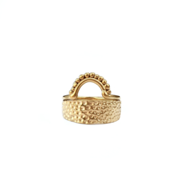 Golden Arch Ring