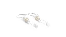 Pearl and Rock Crystal Earrings