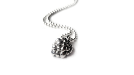 Silver Berry Necklace
