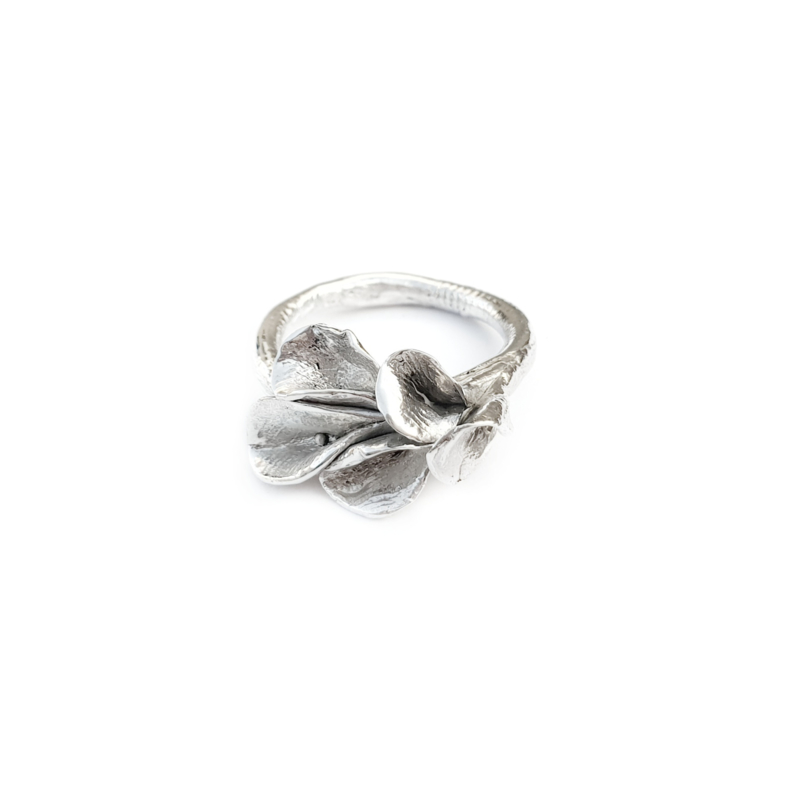 Silver Chalices Ring