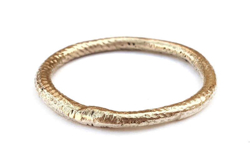 Golden Structured Ring