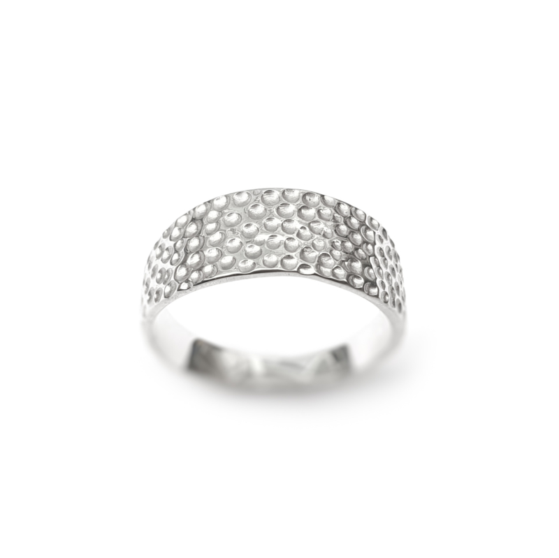 Silver Ray Ring