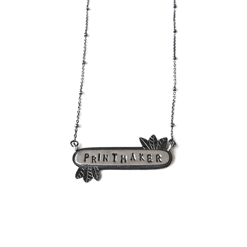 Silver Name Necklace