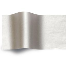 VLOEIPAPIER - METALIC SILVER 50 x 75 cm (240 st)