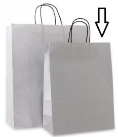 Basic papieren zilver (Medium) Doos van 250 stuks