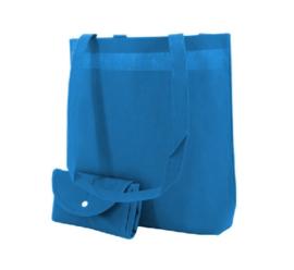 Shop in bag aqua blauw doos 100 stuks